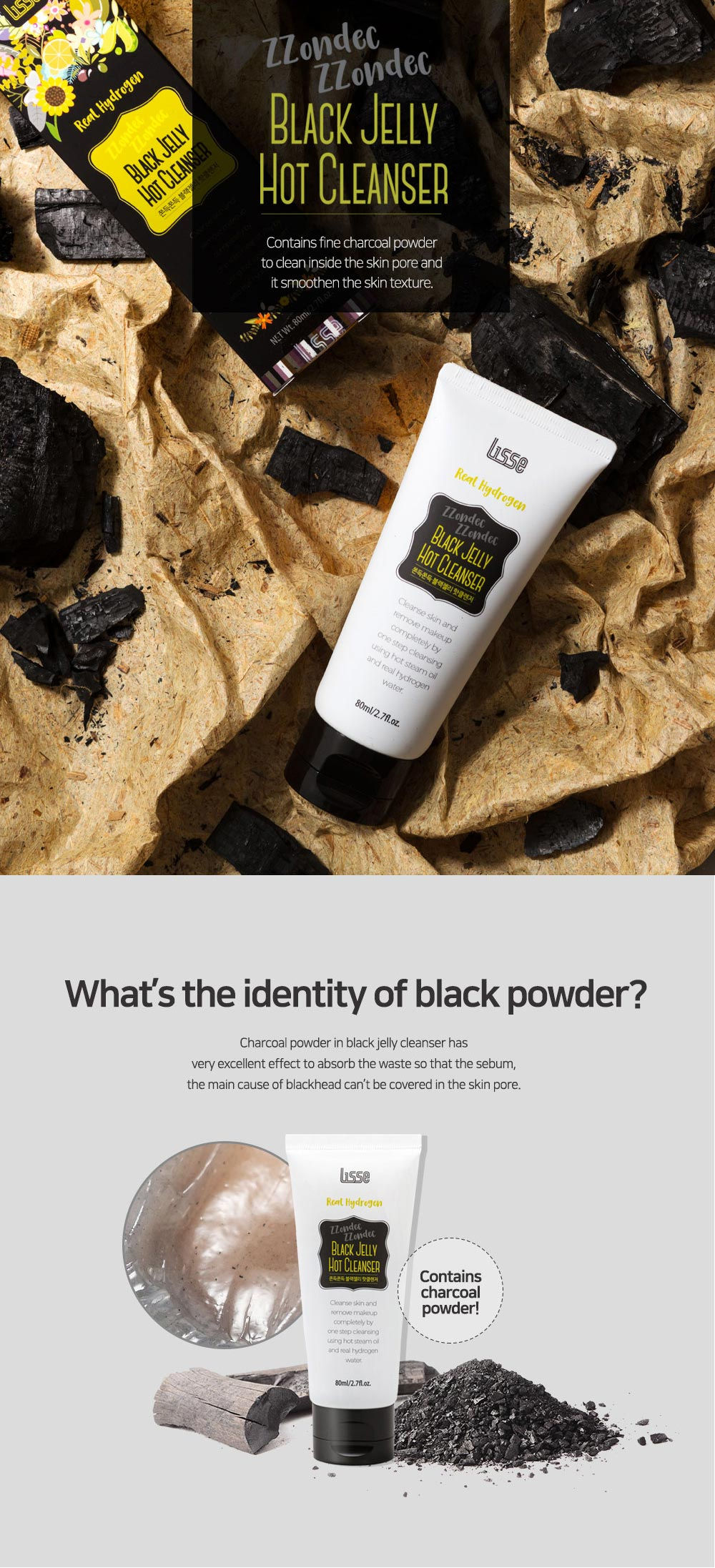 Black Jelly Hot Cleanser